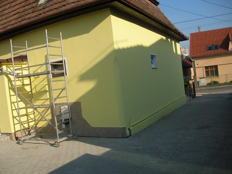 Maľovanie domu